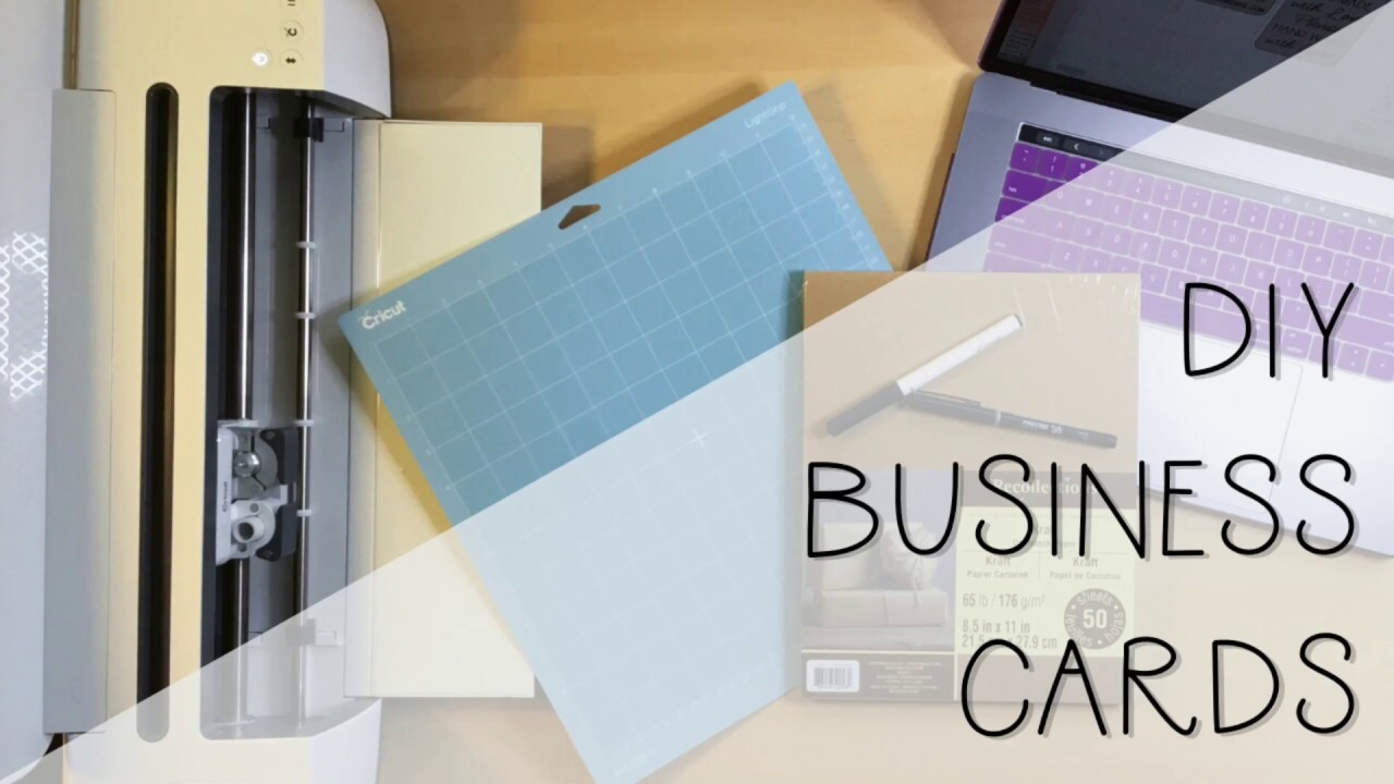 Diy Business Cards Cricut Tutorial