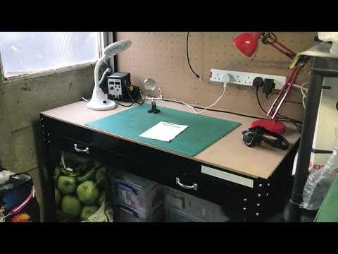 Review steel workbench from eBay