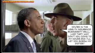 Obama VS Gunnery Sergeant Hartman