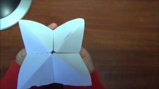 How to Make an Origami Fortune Teller | Paper chatter Box | Step By Step tutorial