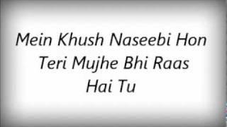 Tera Libaas Hoon Mein Aur Mera Libaas Hai Tu's Lyrics