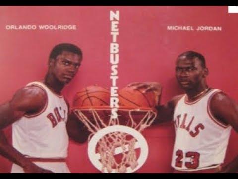 NBA 2K17 - Michael Jordan and Orlando Woolridge Highlights with 85-86 Bulls - NETBUSTERS - PC MOD