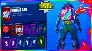 "How To Get The ""BRIGHT BAG"" Backbling in Fortnite! The *RAREST* Item In Fortnite Battle Royale!"