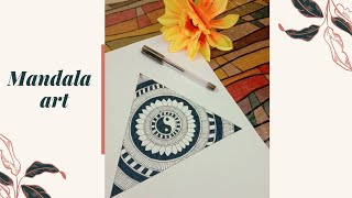 Mandala Art | Easy And Simple | Amrin's Dhuniya🦋🌎✨