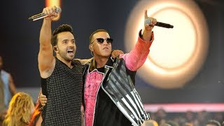 Despacito GRAMMYS 2018 LIVE Luis Fonsi and Daddy Yankee with Zuleyka Rivera