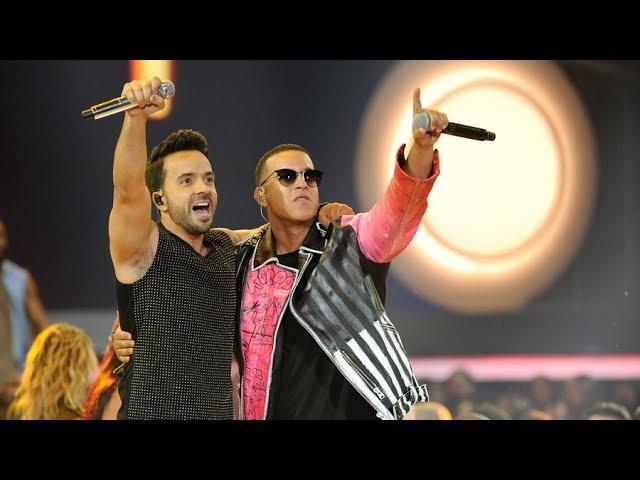 Despacito Grammys 2018 Live Luis Fonsi And Daddy Yankee With Zuleyka Rivera