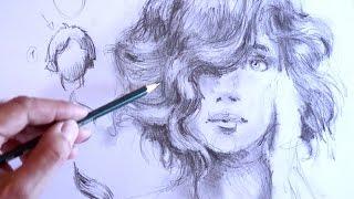 Haare zeichnen   Ganz einfach zeichnen lernen 16