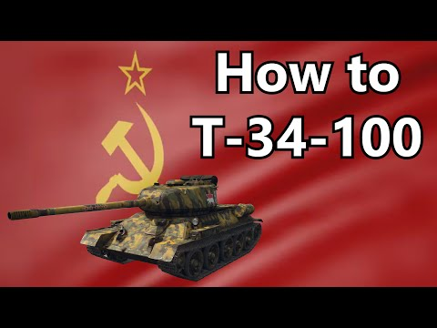 ➤ WT | How to T-34-100