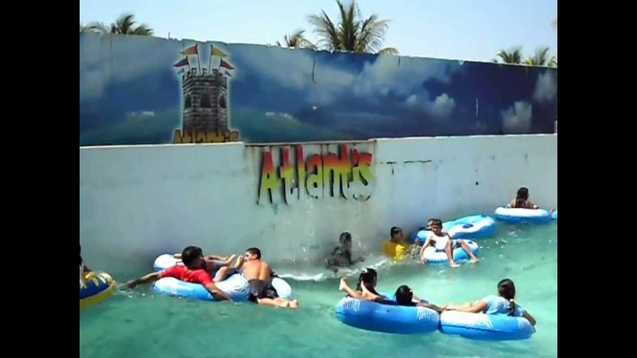 Piscina de olas en atlantis park el salvador youtube for Alberca 8 x 5