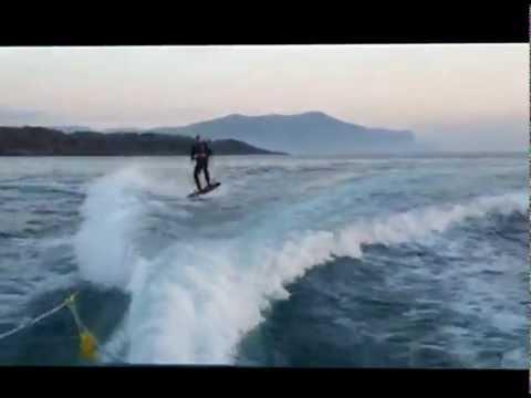 På wakeboard i Møre og Romsdal