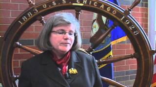 Holly Petraeus Visits Naval Station Great Lakes