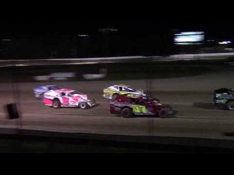 Ransomville Speedway Novice Sportsman Feature Highlights 9-15-17