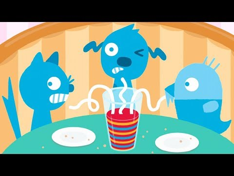 Sago Mini Pet Cafe - Learn Colors, Puzzles Match & Count Numbers - Fun Educational Games For Kids