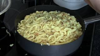 Spätzle, Käsespätzle, Kässpätzle, Kasspatzn, Rezept - Disturbed Cooking Ep. 38