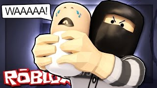 kidnapping a baby in roblox