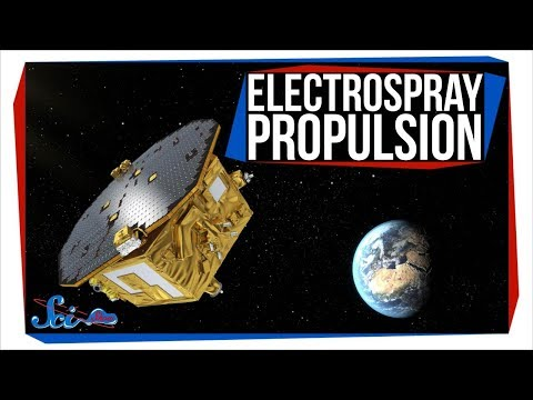 A New Way to Move Tiny Spacecraft | Electrospray Propulsion