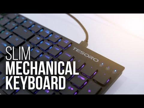 download The Slimmest Mechanical Keyboard Around?