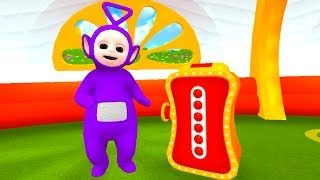 TELETUBBIES TINKY WINKY'S MAGIC BAG EDUCATIONAL GAME APP - DISCOVERING TELETUBBYLAND & DANCING