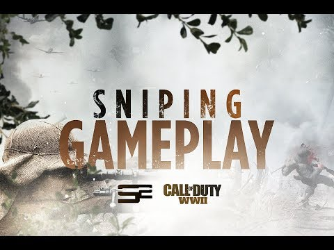 Call of Duty: WW2 Multiplayer Sniping/Quickscoping Gameplay! (COD 2017 Sniper Gameplay)