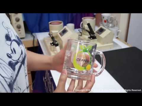 GDMUGNE Mug laser transfer paper: Glass Mug (Step by Step)
