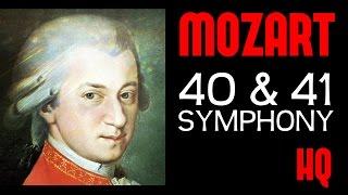 Wolfgang Amadeus Mozart Symphony 40 & 41