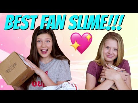 WE GOT THE BEST SLIME! || Q & A || OPENING YOUR FAN MAIL || Taylor and Vanessa