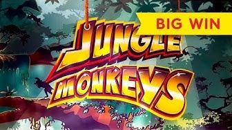 Jungle Monkeys Slot - BIG WIN BONUS!