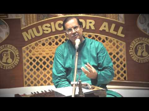 Live Online Class of Bengali Song by Pt Ajoy Chakraborty