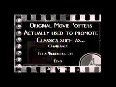 CV Treasures original movie poster collectors