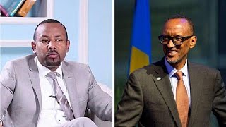 Kagame happy Ethiopia finding solutions to political problems, congratulates Abiy