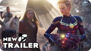 AVENGERS 4: ENDGAME Marvel's Women Trailer (2019)