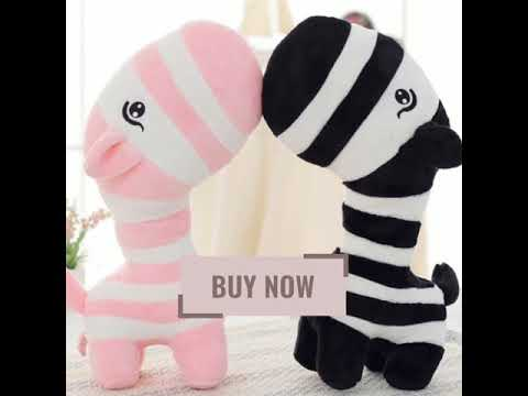 Super Cute Zebra Plush Toy