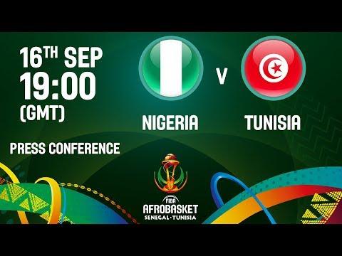 Nigeria v Tunisia - Live - Press Conference