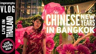 Chinese New Years in Siam and Yaowarat Raod in Bangkok 2018