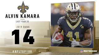 #14: Alvin Kamara (RB, Saints) | Top 100 Players of 2019 | NFL