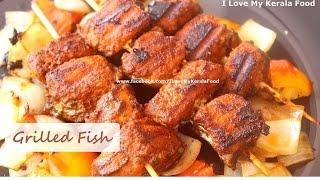 Grilled Fish Kerala Style (with English Subtitle)- chinnuz'  I Love My Kerala Food