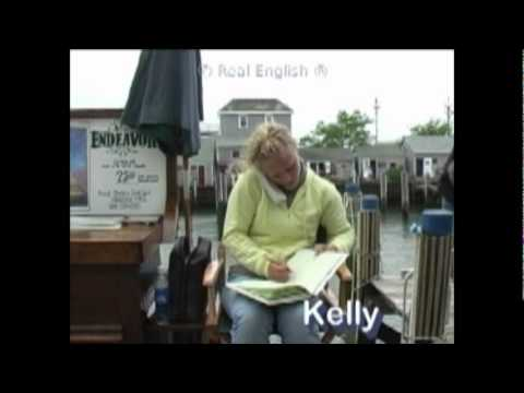 Real English ® 62 - Kelly's Phone Conversation