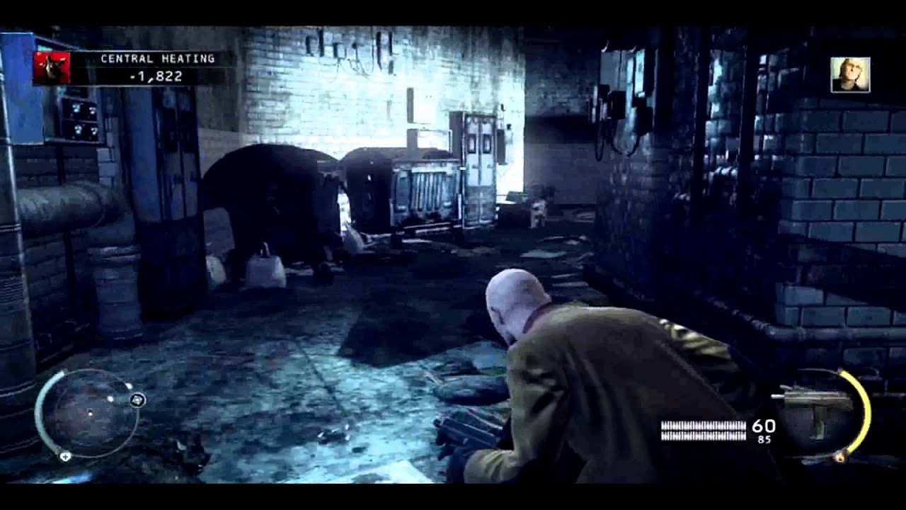 Hitman Absolution Part 14 Central Heating Walkthrough Game Play