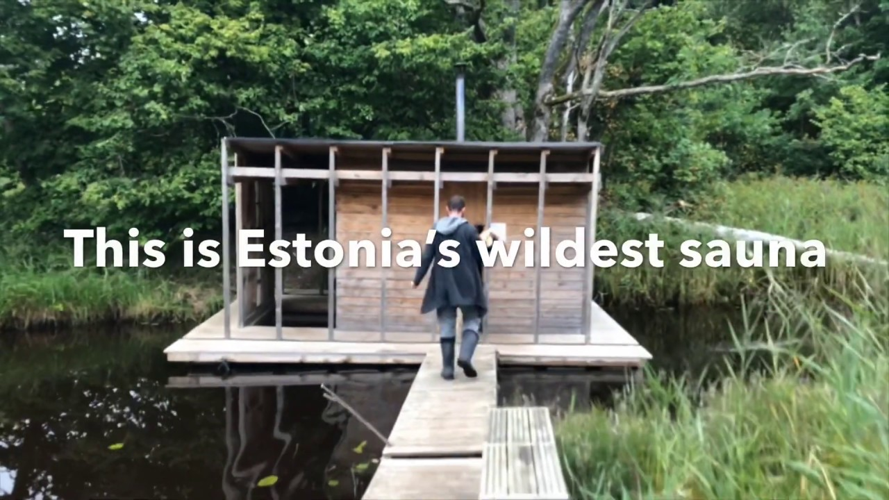 video VALA Floating Wilderness Sauna and Hotel in Estonia – Free If You Can Get There