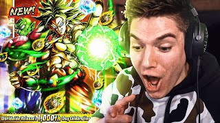 40K CC??? Summons Until I Pull NEW Broly On Dragon Ball Legends!