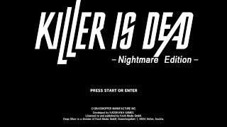 First Impressions On: Killer Is Dead [Nightmare Edition]