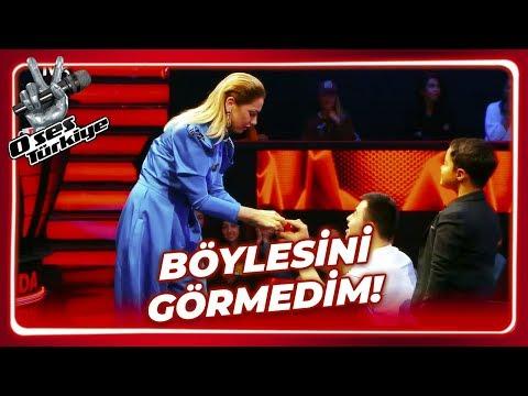 Hadise'ye Sürpriz Evlenme Teklifi   O Ses Türkiye 4. Bölüm