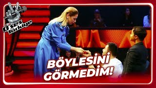 A surprise marriage proposal to Hadise | The Voice Turkey | Episode 3