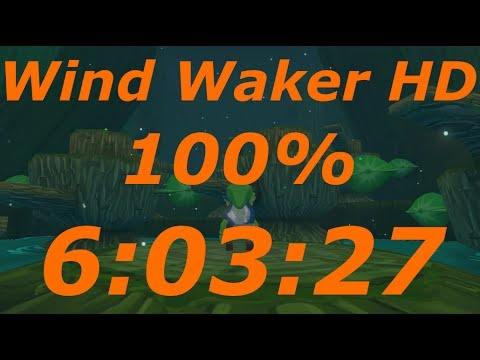 Wind Waker HD 100% Speedrun in 6:03:27[World Record]