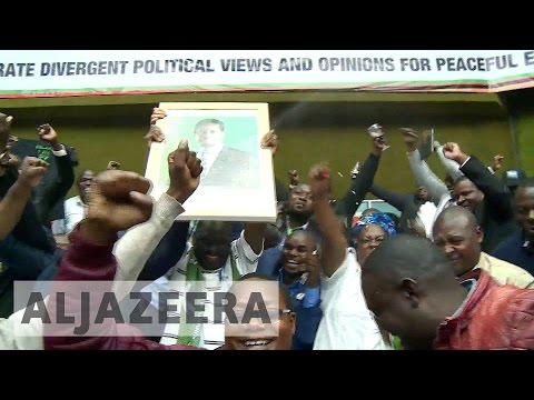 Zambia's Edgar Lungu wins re-election as rival cries foul