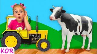 트럭 속의 동물들   동물들의 소리   재미있는 어린이 노래