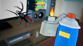 How NOT To Kill A Spider - Kill It With Fire: Ignition