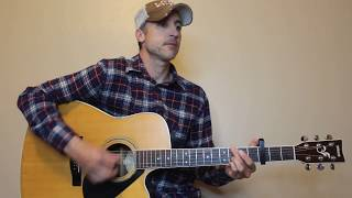 I Lived It - Blake Shelton - Guitar Lesson | Tutorial