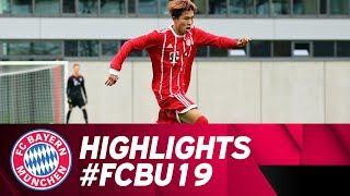 Highlights: Erste Saisonniederlage - FC Bayern U19 unterliegt in Heidenheim