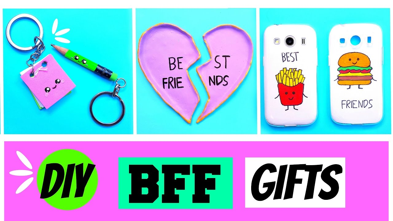 Diy Bff Gift Ideas 3 Quick Easy Diy Ideas Youtube